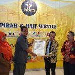BB Tour & Travel Terima Sertifikasi dan Siap Melayani Para Jemaah Haji dan Umroh