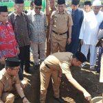 Peletakan Batu Pertama Masjid Cantik Destinasi Wisata Paduppa Wajo