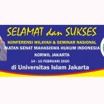 FH Uniat Siap Sukseskan Konferwil Ismahi Jakarta