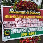 Amanah dan Jujur, PP GPI Kirim Karangan Bunga Untuk Kabareskrim